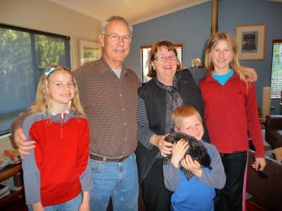 Kurt Judy & kids